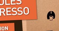 Pour seulement 1€ recevez chez vous: 1 tasse de collection, 21 capsules compatibles Nespresso, 4 friandises.